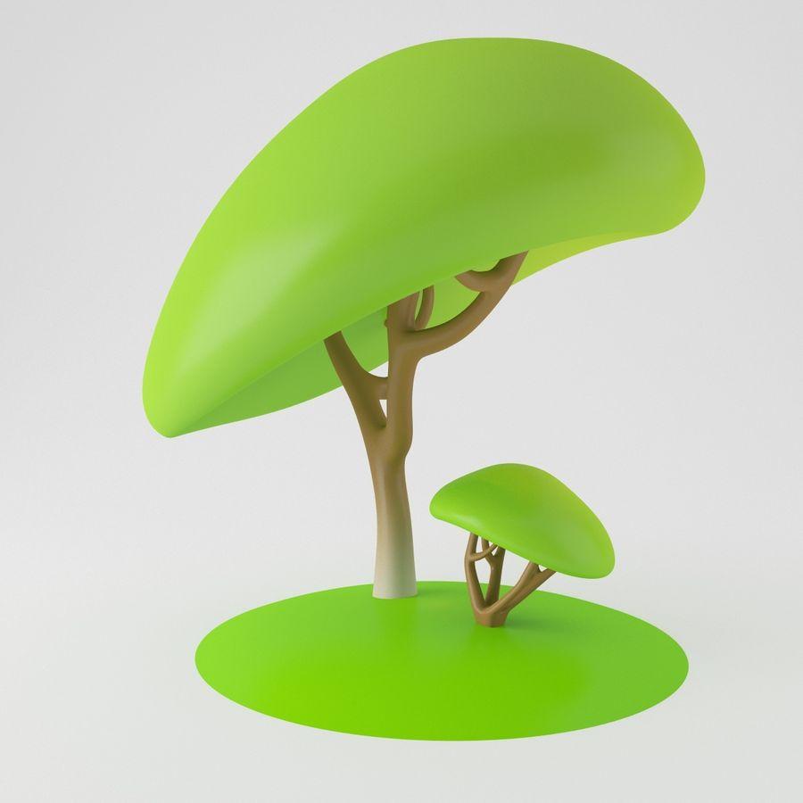 トゥーンツリー royalty-free 3d model - Preview no. 7