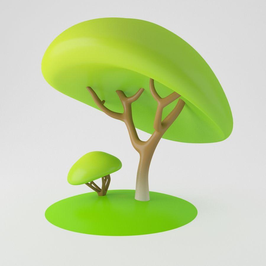 トゥーンツリー royalty-free 3d model - Preview no. 9