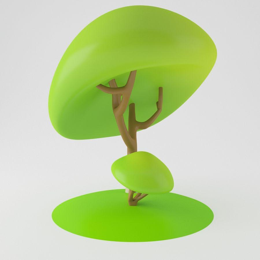 トゥーンツリー royalty-free 3d model - Preview no. 5