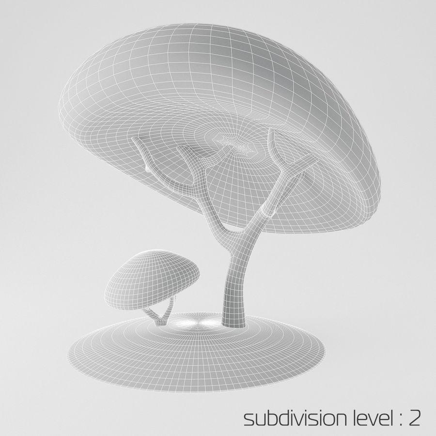 トゥーンツリー royalty-free 3d model - Preview no. 4