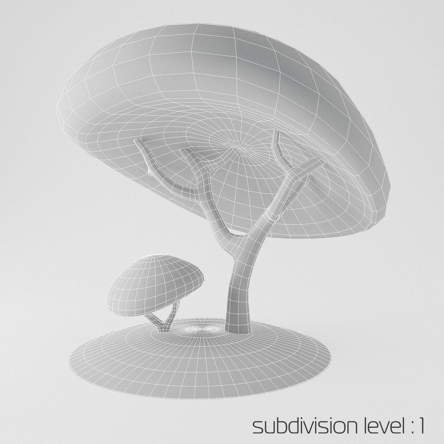 トゥーンツリー royalty-free 3d model - Preview no. 3