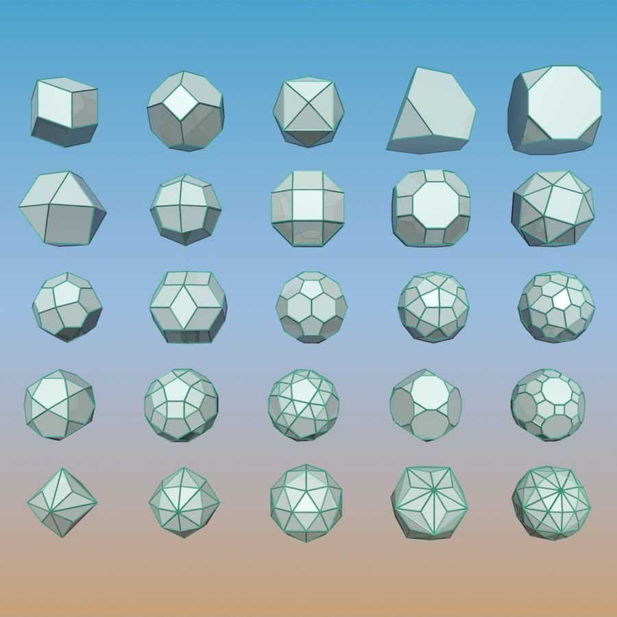 geometric shape pack 11 3d model $15 - .fbx .max - free3d