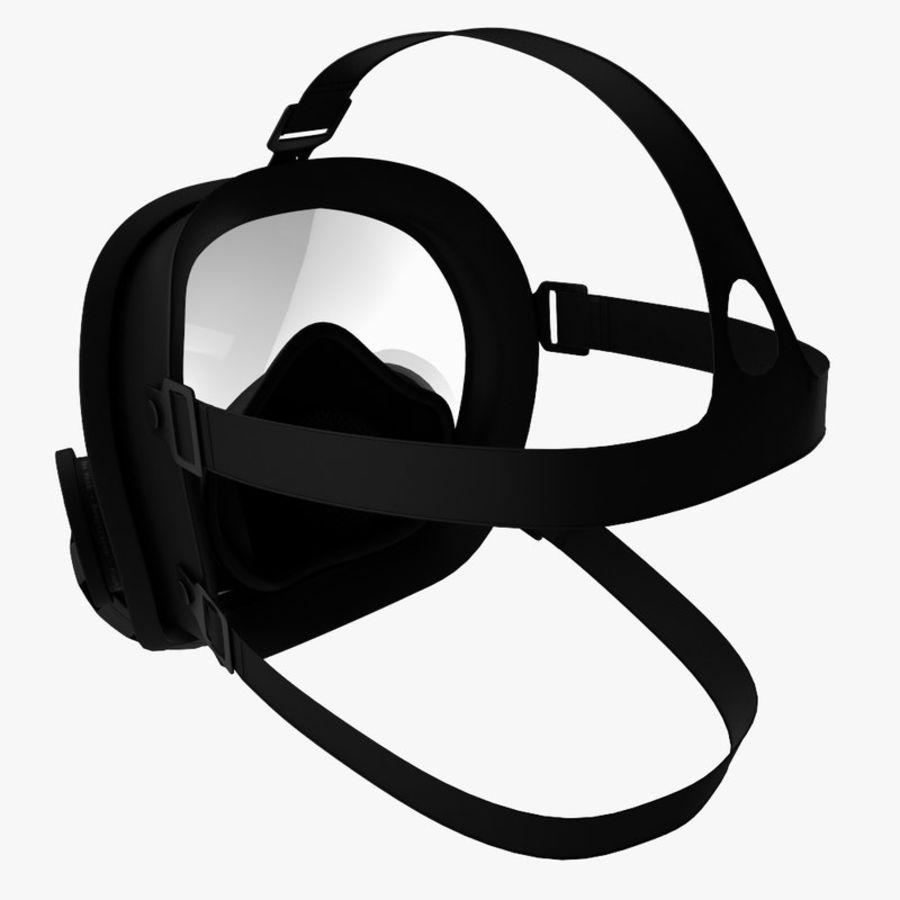 防毒面具 royalty-free 3d model - Preview no. 5