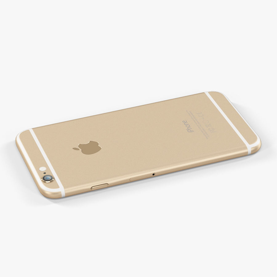 アップルiPhone 6 royalty-free 3d model - Preview no. 6
