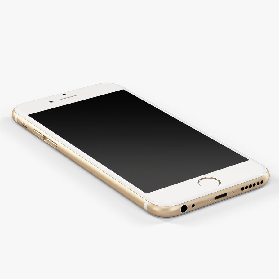アップルiPhone 6 royalty-free 3d model - Preview no. 7