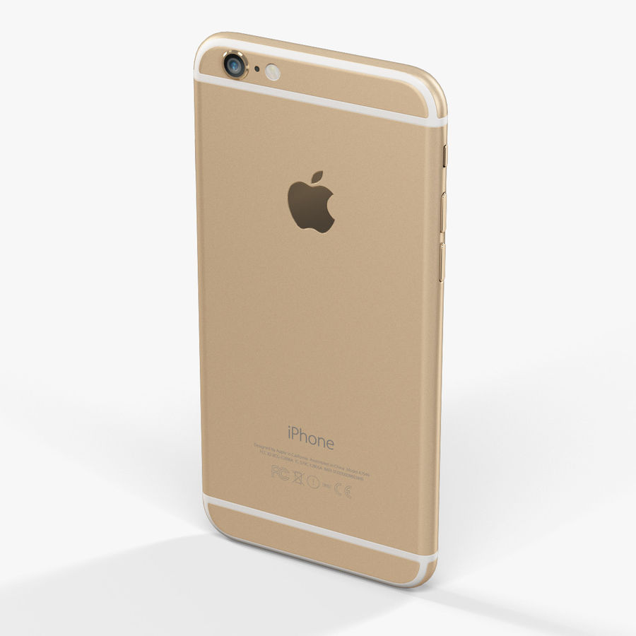 アップルiPhone 6 royalty-free 3d model - Preview no. 5
