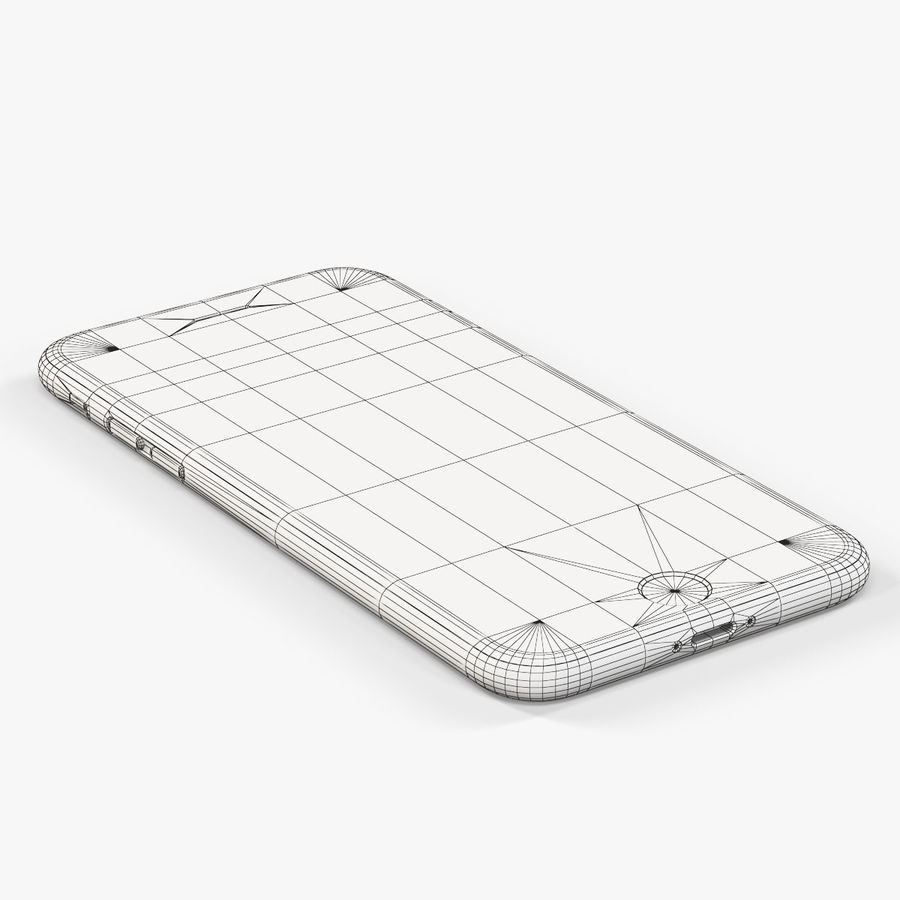 Apple iPhone 6 royalty-free 3d model - Preview no. 13