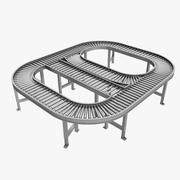 Conveyor System 3d model