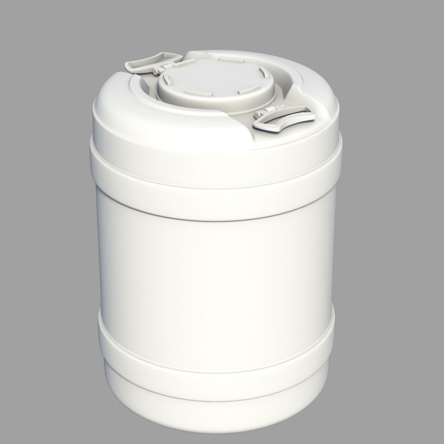 water container medium royalty-free 3d model - Preview no. 1