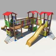 Plac zabaw 3d model