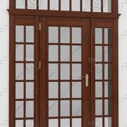 Franska dörr 2 3d model