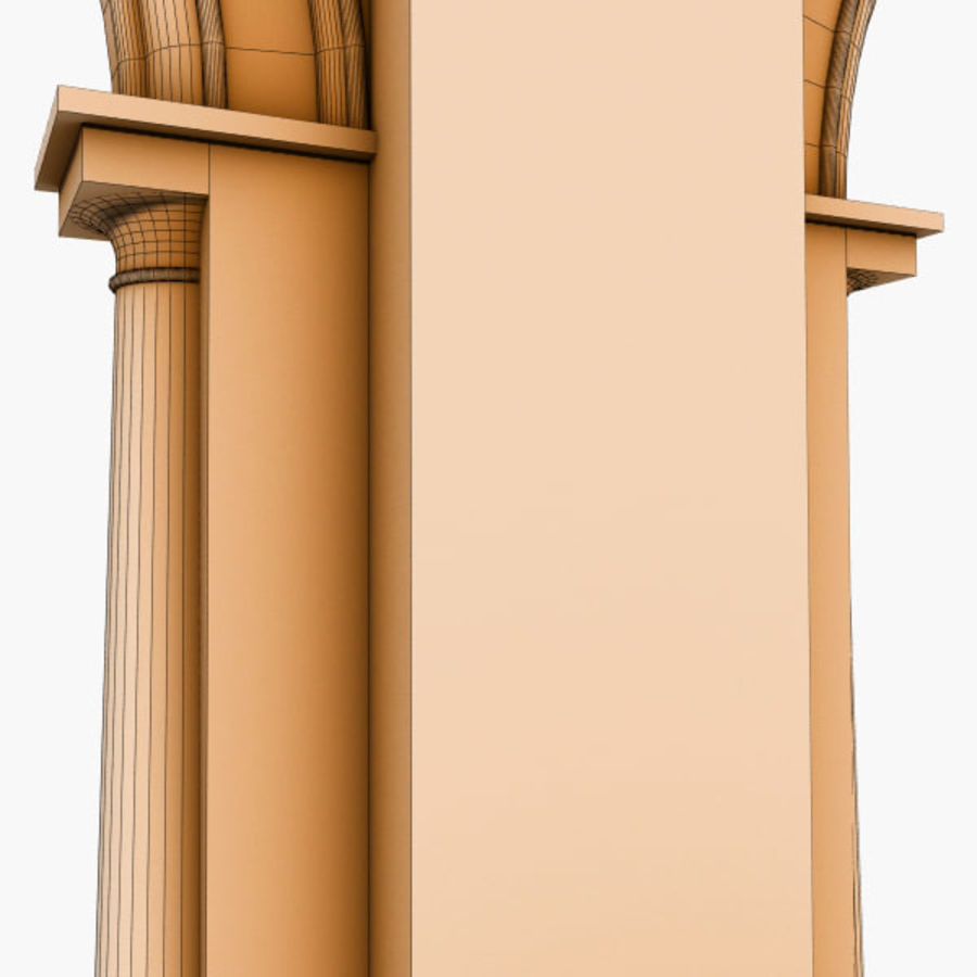 Arch 008 6ft - 2 royalty-free 3d model - Preview no. 7