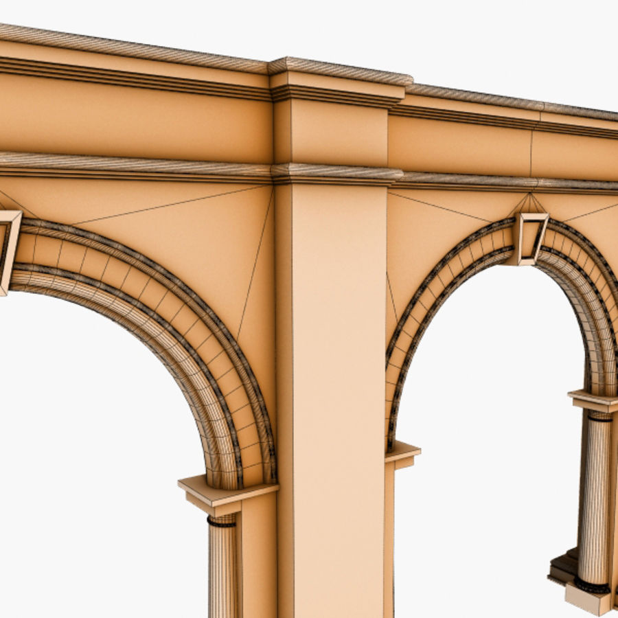Arch 008 6ft - 2 royalty-free 3d model - Preview no. 6