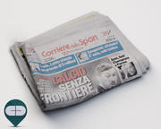 newspaper Corriere Sport 14 3d model