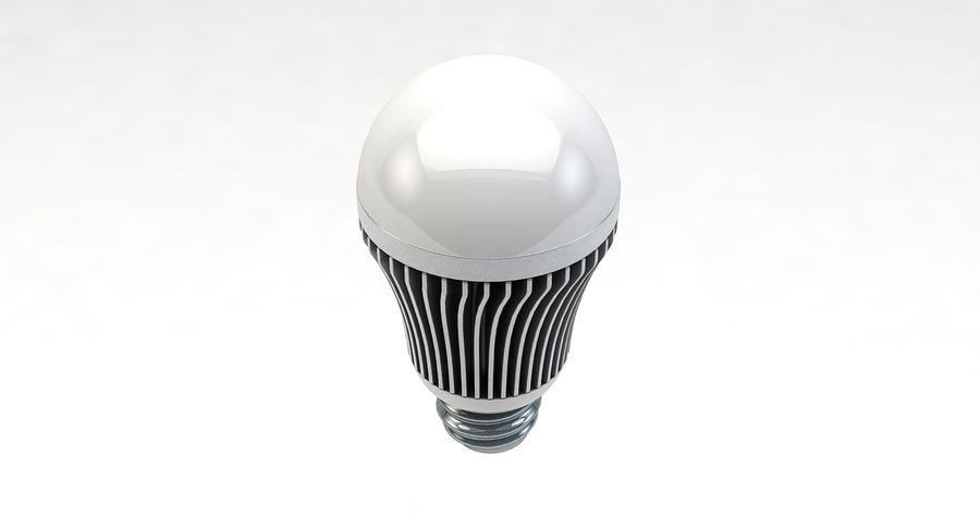 LED Lightbulb royalty-free 3d model - Preview no. 3