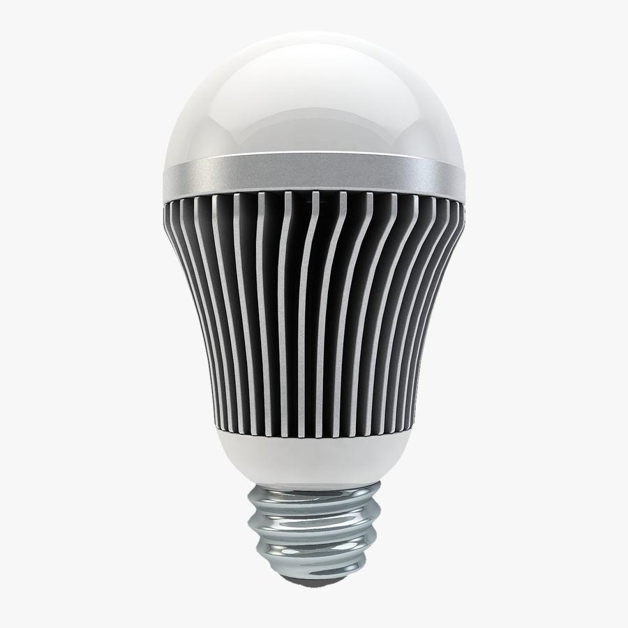 LED Lightbulb royalty-free 3d model - Preview no. 1