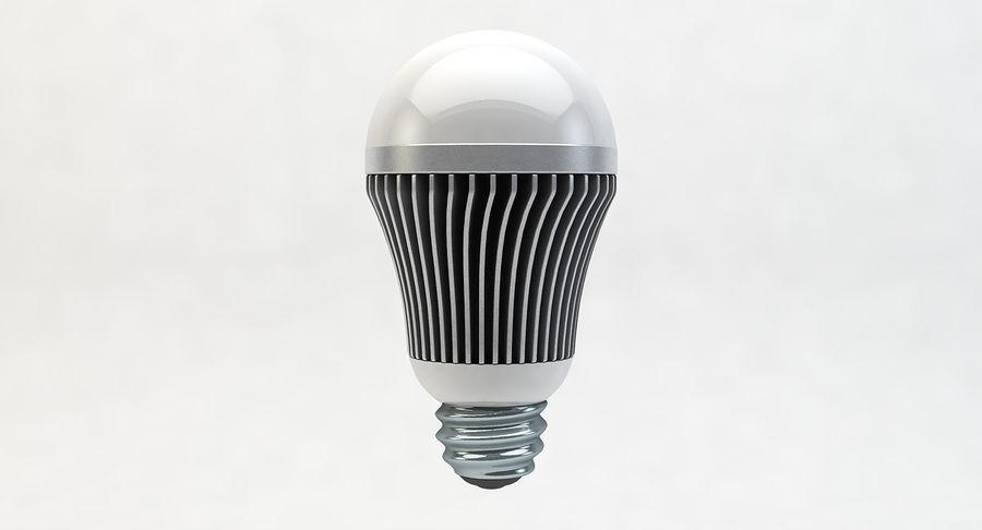 LED Lightbulb royalty-free 3d model - Preview no. 2