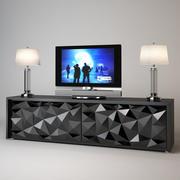Fendi Cabinet Royal Diamond 3d model