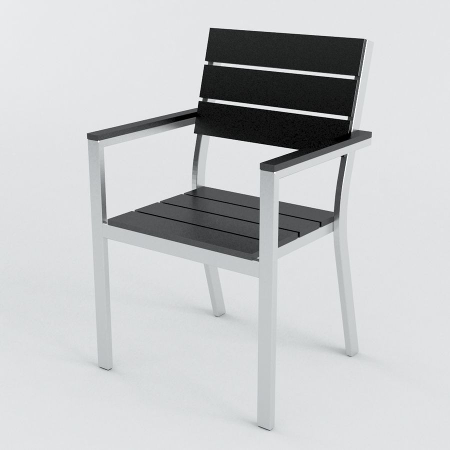 Chairs & Table royalty-free 3d model - Preview no. 5