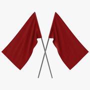 Red Flag 3d model