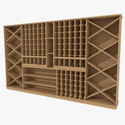 Wine cabinet one textured 3d model