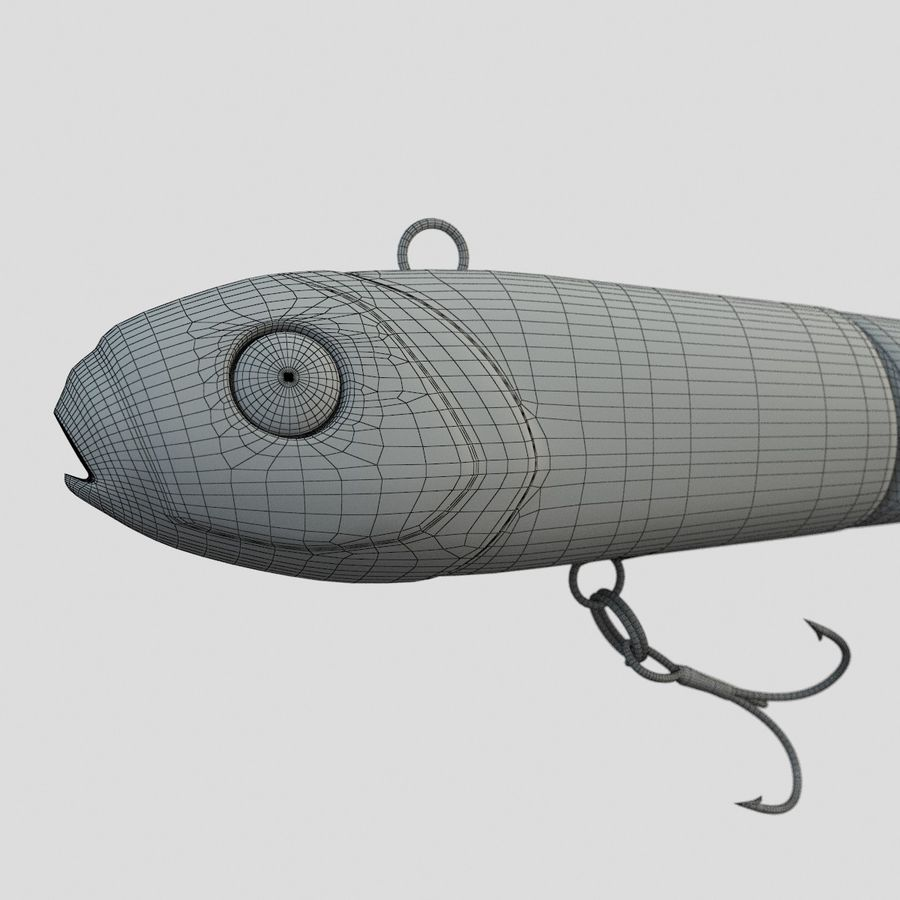 Lure(1) royalty-free 3d model - Preview no. 14