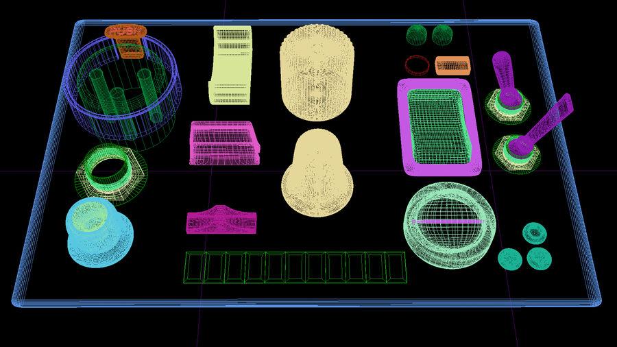 Electronics Kitbash Kit 01 royalty-free 3d model - Preview no. 4