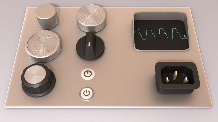 Electronics Kitbash Kit 01 royalty-free 3d model - Preview no. 2