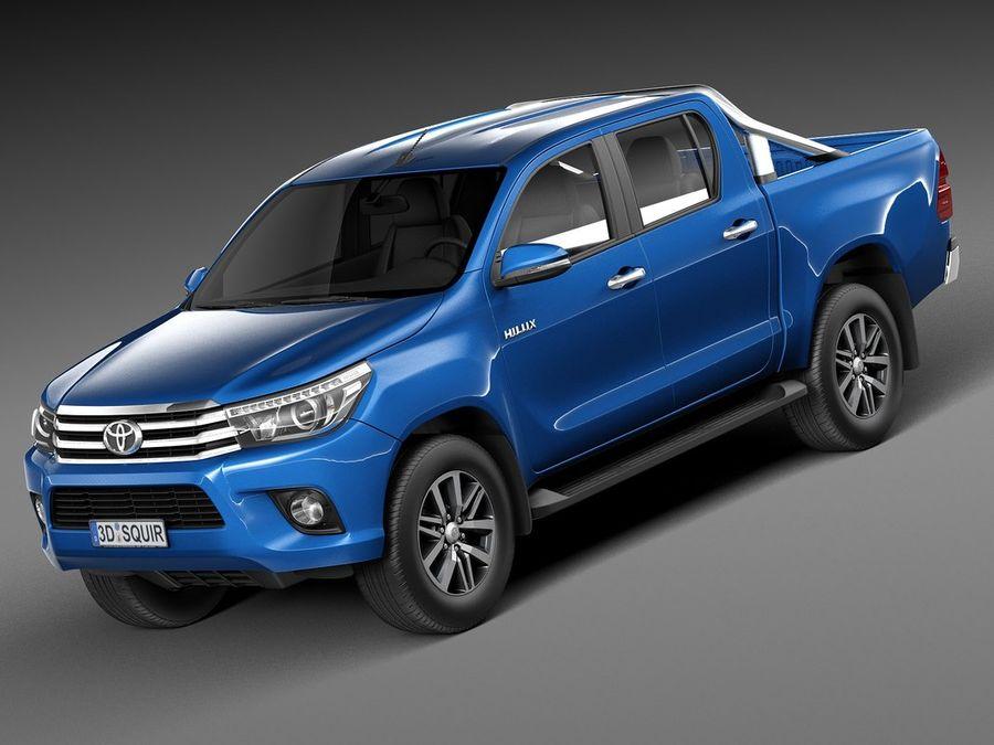 Toyota Hilux Double Cab 2016 3D Model $129 - .obj .max ...