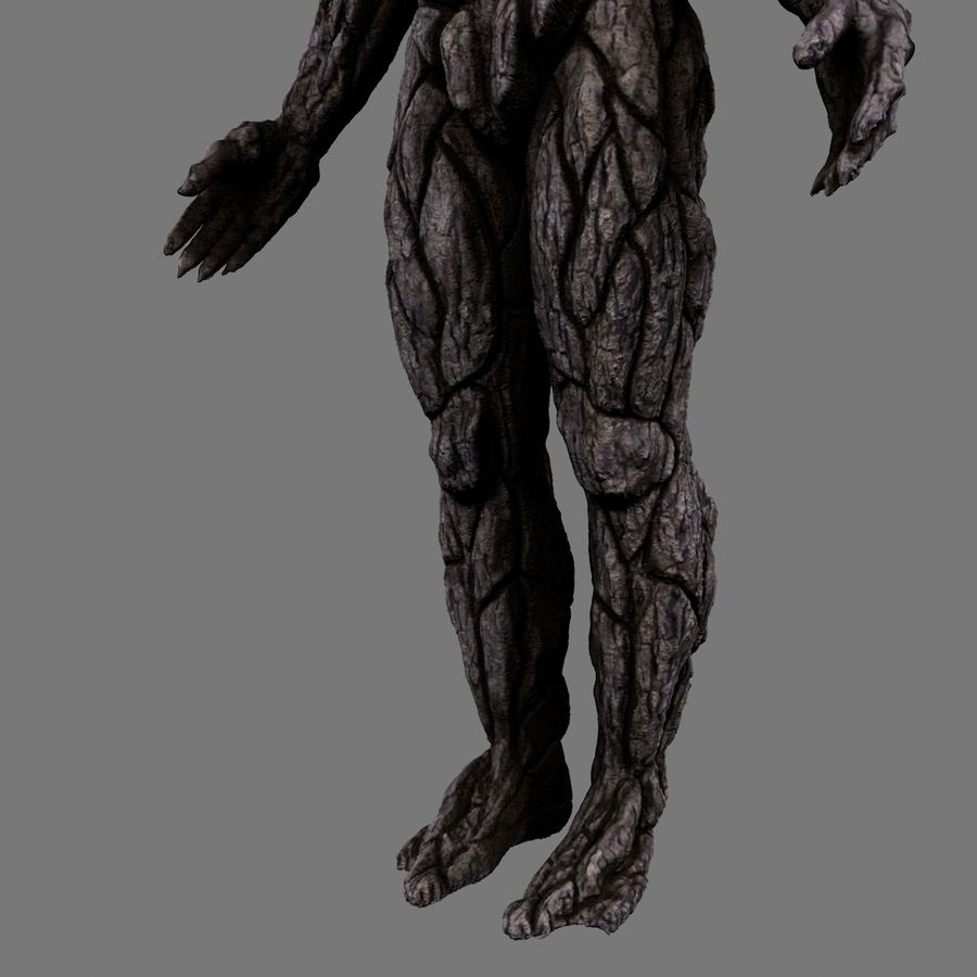 Tree Monster royalty-free 3d model - Preview no. 11