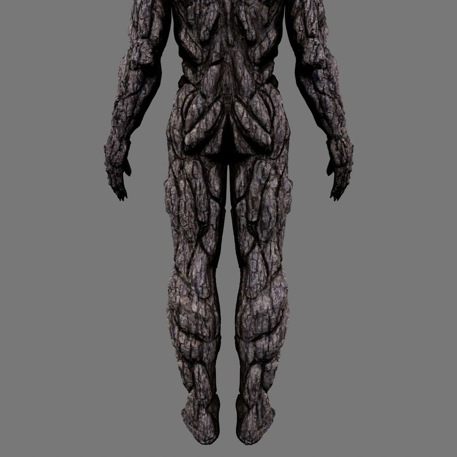 Tree Monster royalty-free 3d model - Preview no. 13