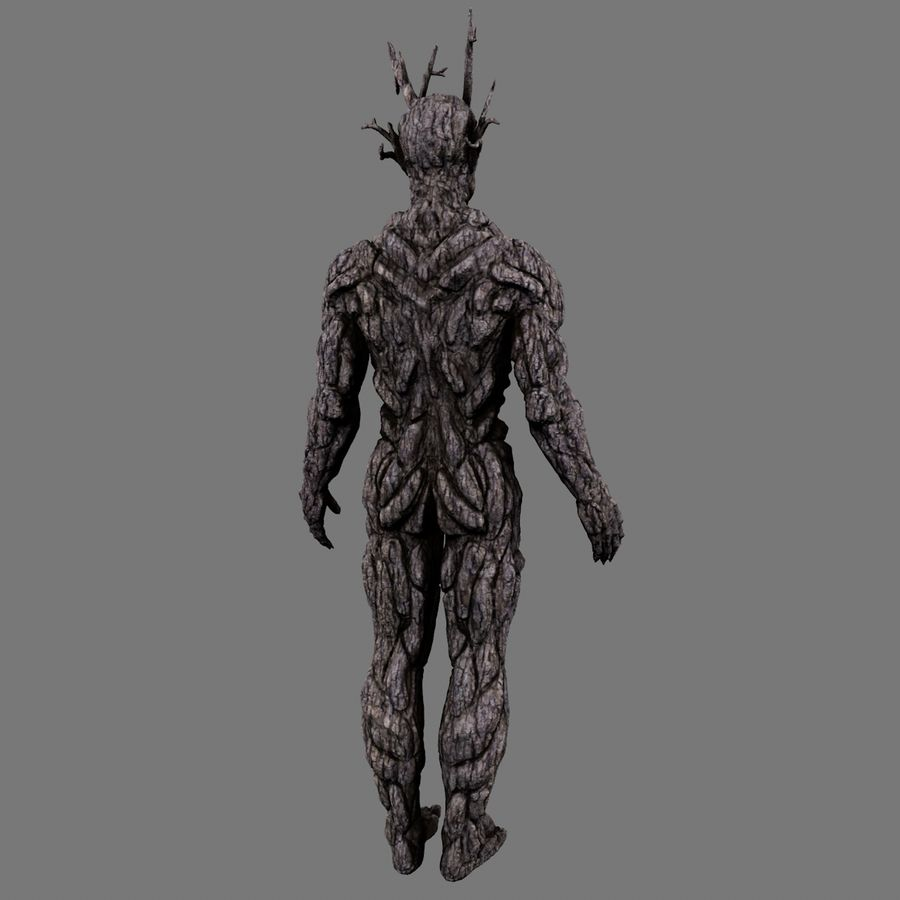 Tree monster 3d model 20 obj fbx oth c4d free3d for Monster 3d model