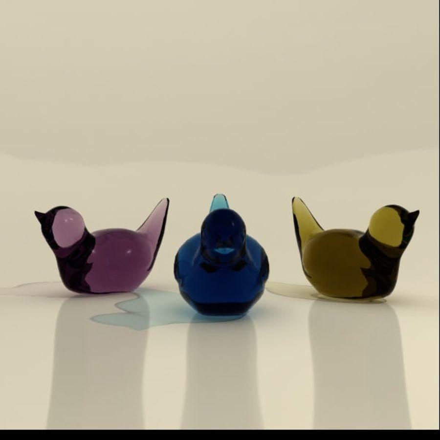 biblo kuşlar royalty-free 3d model - Preview no. 2