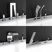 Смесители для ванной 3d model