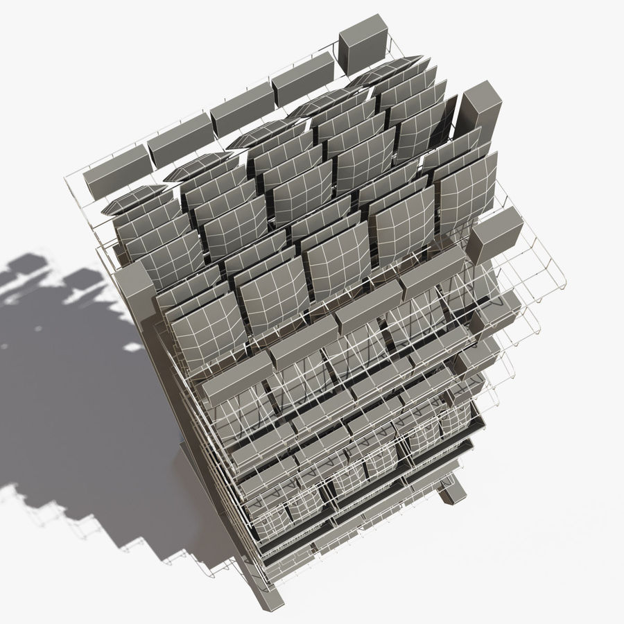 Rack royalty-free 3d model - Preview no. 19