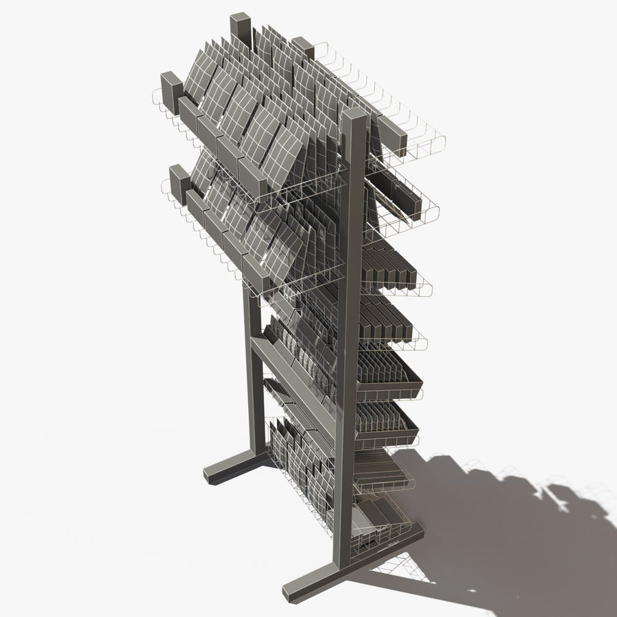 Rack royalty-free 3d model - Preview no. 15
