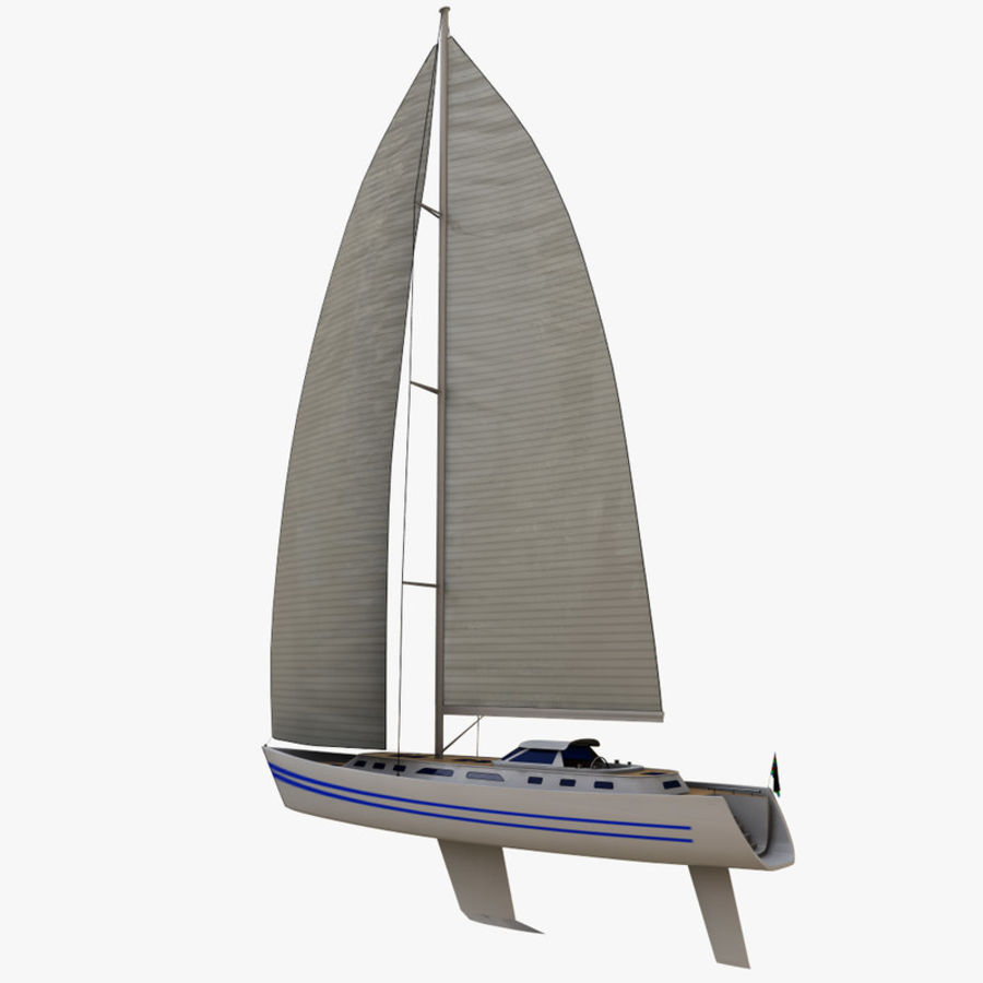 Sailing yacht 3D Model $19 -  unknown  max - Free3D