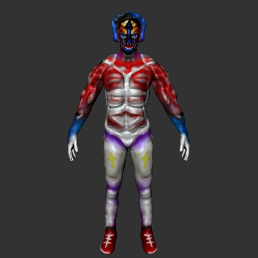 Character HeroSound (2 Models in One) 3D Model $2 -  unknown  fbx