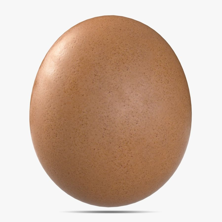 Egg royalty-free 3d model - Preview no. 4