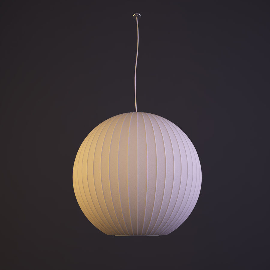 pendant modernica nelson george bubble lamp miller saucer buy the product at herman