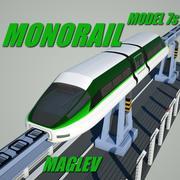 Monorail Modèle 7 3d model