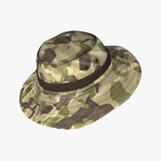 Military Boonie Hat 03 3d model