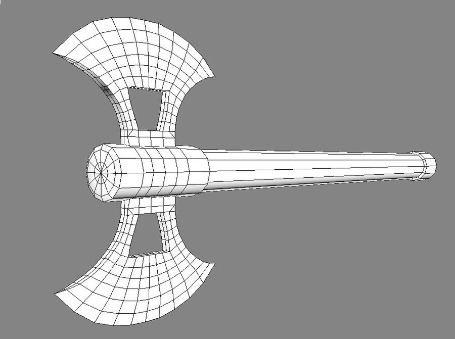 Axe royalty-free 3d model - Preview no. 7