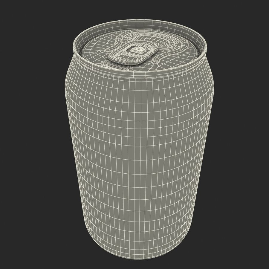 Aluminum Can 0.33L Pepsi royalty-free 3d model - Preview no. 20