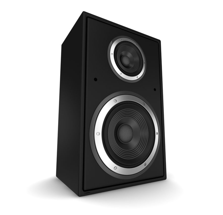 speaker royalty-free 3d model - Preview no. 2