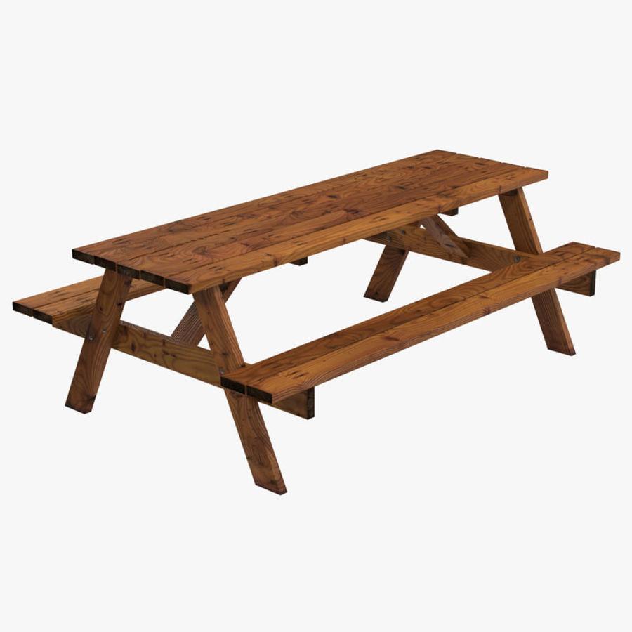 Audacieux Table de pique-nique modèle 3D $19 - .c4d .ma .max .obj .3ds - Free3D AP-37