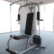 GYM Multi-Gym Equipment 3d model