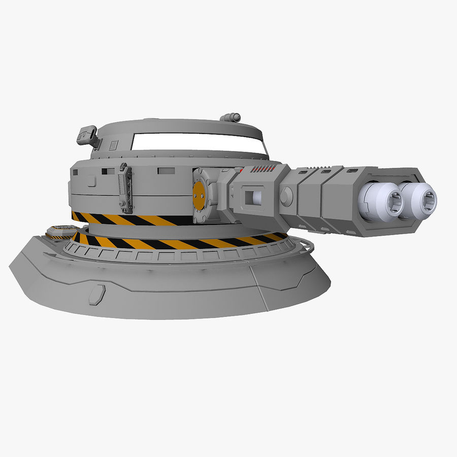 Sci-Fi Weapon Collection royalty-free 3d model - Preview no. 14