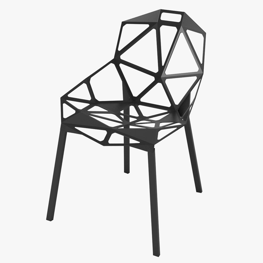 Konstantin grcic chair one 001 3d model 39 obj max for Chair one grcic