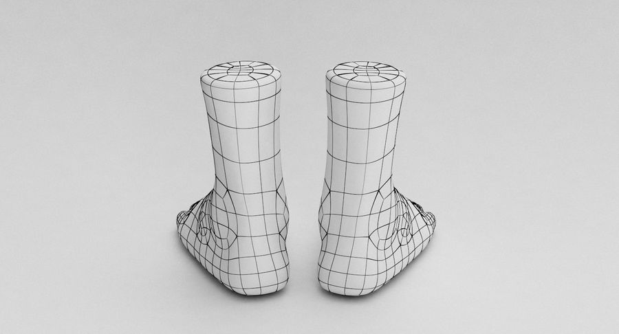 Realistic Foot royalty-free 3d model - Preview no. 22